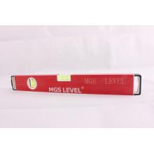 Уровень алюминиевого ящика -700812b (красный 400 мм)