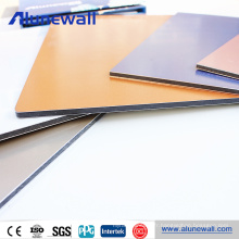 4mm PVDF coating high quality aluminium composite panel for caravan