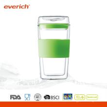 Copies d'eau en verre 300ml promotionnelles à vendre