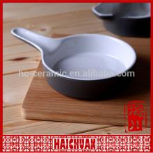 Color de cerámica de hornear ware rectángulo tazón pastel hornear