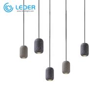 LEDER Декоративный подвесной светильник из бетона