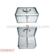 200 CD disks aluminum cute cd dvd case with clear acrylic plate as walls wholesale