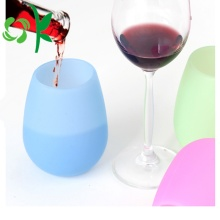 Silicone Flexible Coffee Wine Cup Vente en gros incassable