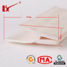 Boa Qualidade Extrudados Silicone Rubber Seals Strip para Porta