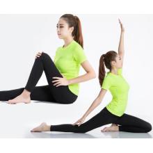 Frauen Fitness Kleidung Yoga Laufen Wandern Sport T-Shirt
