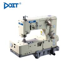 Máquina de coser industrial de la puntada de cadena doble de la cama doble DT1302-4W
