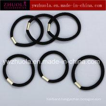 Black Rubber Hair Tie for Children