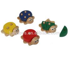 2016 Heiße verkaufende Schildkröten-Form hölzernes Mathe-Spielzeug für Kinder