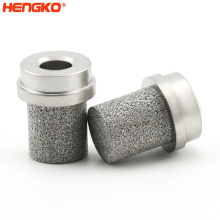 0.5 2 Microns Stainless Steel SS Medium Low Pressure Air Liquid Oxygen Diffuser