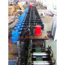 Suporte de aço solar perfurado para suportes de colectores solares Rolando formando máquina de fabricação Malásia