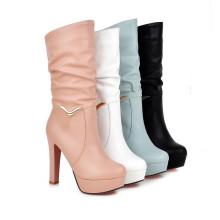 Mehrere Coulons High Heel Damen Stiefel