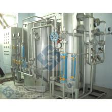 Ammoniak-Cracker und Kläranlage