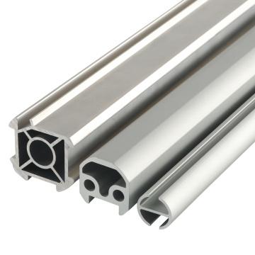 High Quality Extruded Aluminum Handle Profile Aluminum tube / Alloy pipe