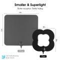 Indoor Digital HDTV Leaf Antenna with Detachable Amplifier