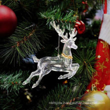 Plastic Glitter Angel shape Christmas decoration