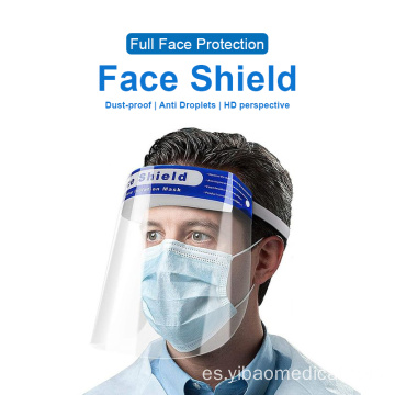 Safety Clear Anti-Splash Saliva protector facial médico