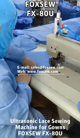 Ultrasonic Lace Machine for Medical Gowns