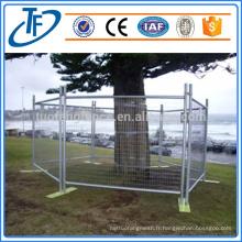 Vente directe d'usine clôture de piscine amovible galvanisée de haute qualité au meilleur prix