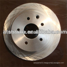 auto spare parts brake system Japanese car brake disc/rotor