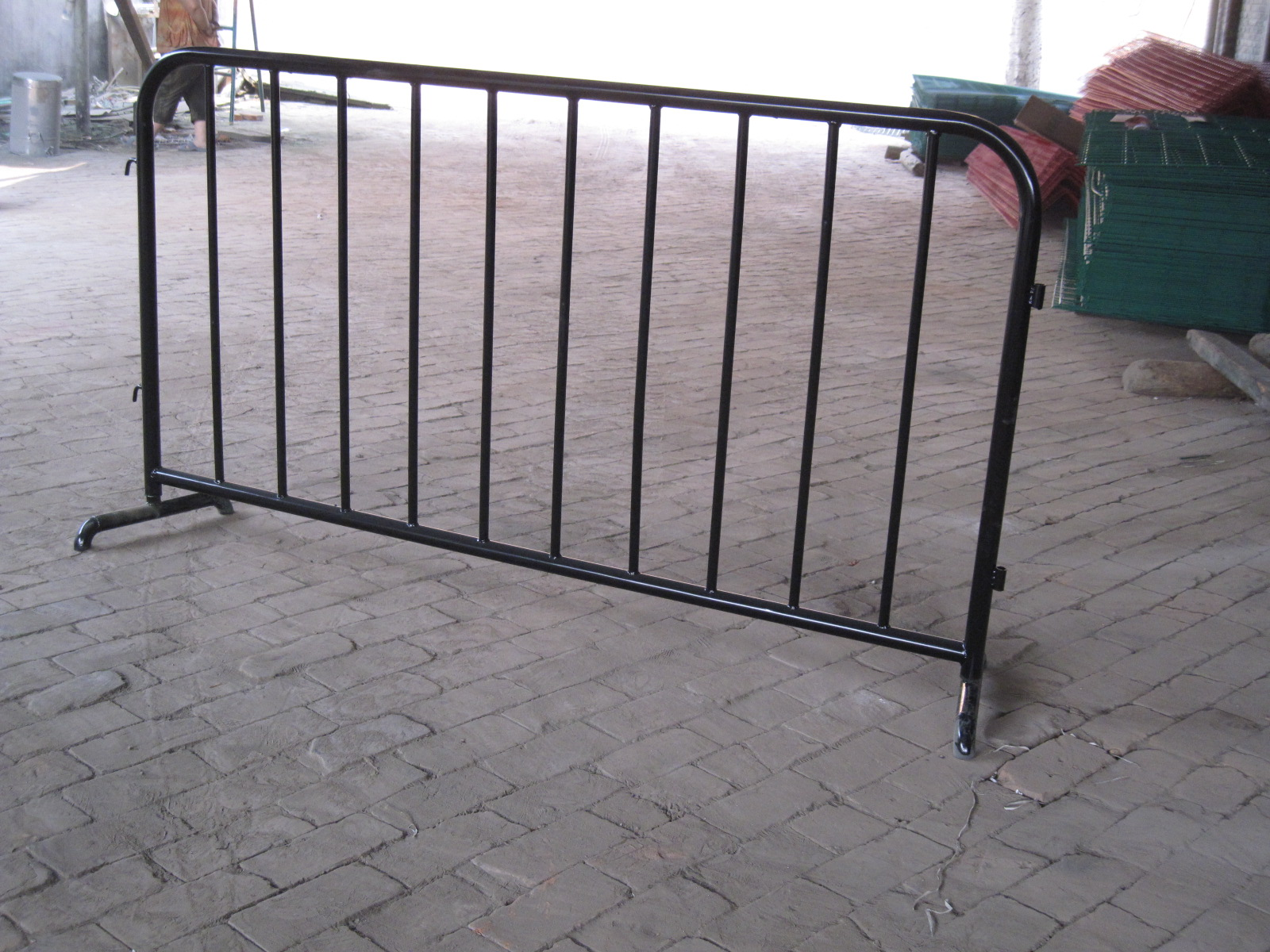 used crowd control barrier