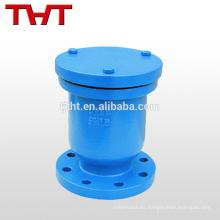 Válvula de liberación de aire con orificio de una bola