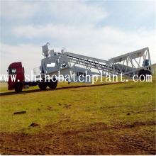 90 Planta móvil de hormigón de construcción