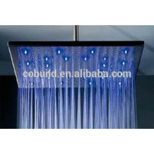 2017hot selling health care stainless steel ceiling shower head,big square shower head