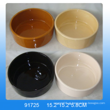 Alimentador de alimentos de cerâmica de alta qualidade cerâmica