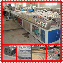 professional pvc wpc profile extruder machine plastic