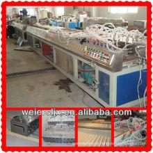 plástico profissional da máquina da extrusora do perfil do wpc do pvc