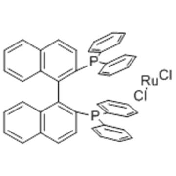 DICHLORO [(R) - (+) - 2,2'-BIS (DIFENILFOSFINO) -1,1'-BINAPHTHYL] RUTENO (II) CAS 132071-87-5