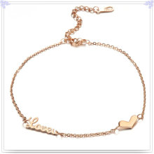 Fashion Jewelry Women Fashion Stainless Steel Anklets (CH001)