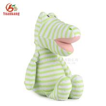 Dragón al por mayor juguetes de peluche de felpa verde dragón juguetes