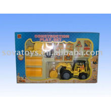free wheel construction tractor trailer toy trucks