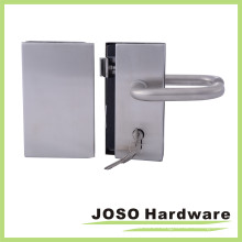 Interior Tempered Glass Doors Center Lock & Strike