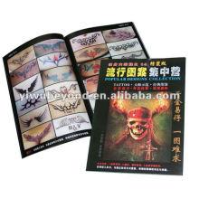Livre de tatouage de crâne