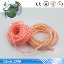 Multicolored Waterproof Plastic Coated Polyester Rope Dog Lead