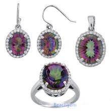 Fashion Mystic Quartz Jewellery Set (S5313)
