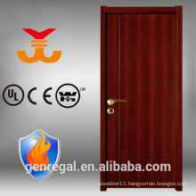 High Quality BS fire rated timber finish door