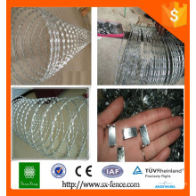 [Anping Factory] High Zinc Coating Galvanized Concertina Razor Wire Barb Wires