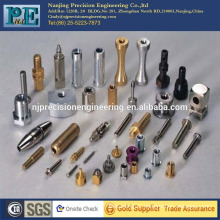 Anodized aluminum forged and cnc machined hardware component