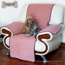 A cor diferente da cama luxuosa por atacado do cão do fabricante pode escolher a tampa do sofá do animal de estimação