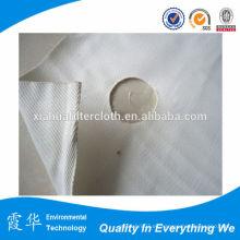 Tela de poliéster tejido filtro de prensa para el filtro de placa y marco