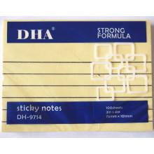 Fournitures de bureau et d'école Notes autocollantes de haute qualité Dh-118