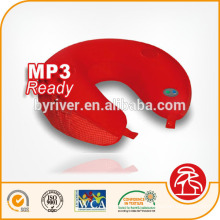 Almofada de massagem calor conectar MP3/Iphone