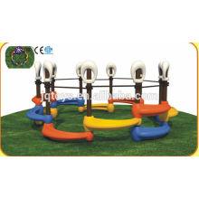 JQC1282 Пластмассовая детская площадка / Детская комбинированная горка / Парк аттракционов