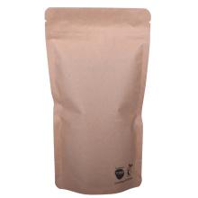 Normal materials nature kraft paper bag for food