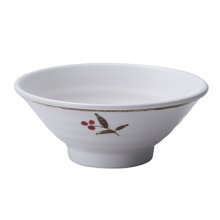 Меламин миска Рамен/лапши чаши/ужин посуда/миска (AT5507)