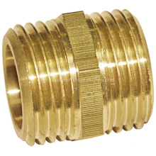 Brass Full Equal Nipple Pipe Fitting (a. 0308)