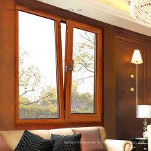 Напудрите Покрынное алюминиевое окно casement с двойным стеклом (фут-W108)